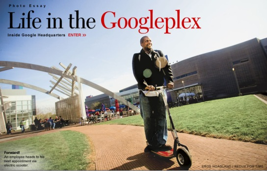 Life in Googleplex