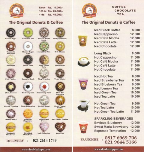 Double Dipps Donuts, Bakery & Coffee at Graha Atrium Senen